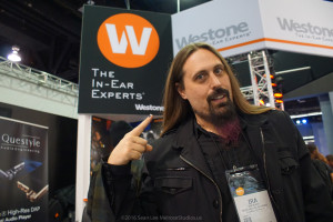 Ira Black - Westone Laboratories - The In-Ear Experts -  NAMM 2016 - web