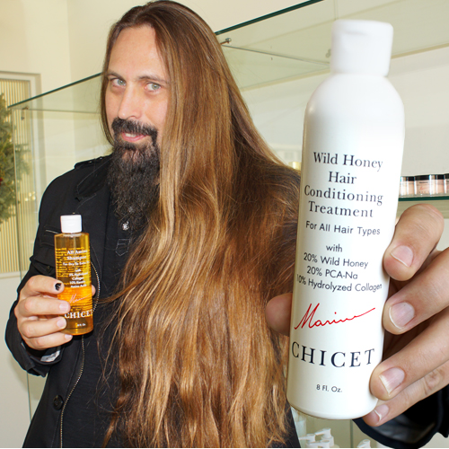 Ira Black with Chicet Shampoo and Conditioner 500x500
